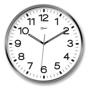 Silen chromed clock - AIC International