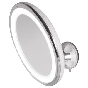 Mirror with lighting LED tactile