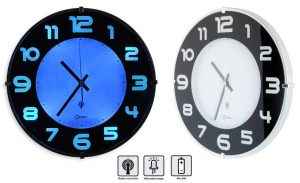 Horloge RC Lumineuse Ø33 cm - AIC International