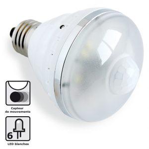 Ampoule LED Détect' Mouvements - AIC International