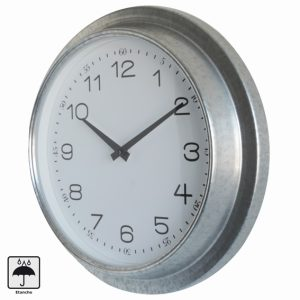 Horloge étanche Zinc Ø30cm - AIC International