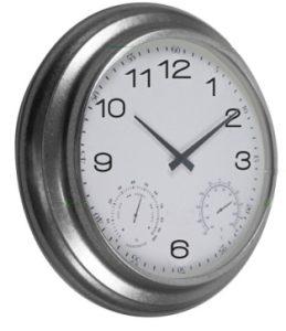 Horloge étanche Zinc Ø62cm