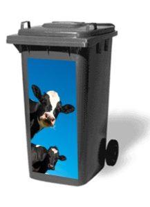 Autocollant conteneur Vaches - AIC International