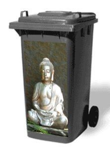 Autocollant Conteneur Bouddha - AIC International
