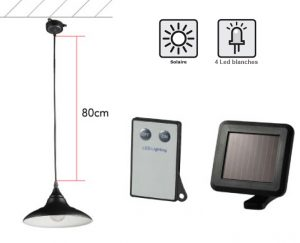 Solar inside lamp 70lm - AIC International