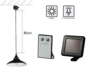 Lampe solaire d'intérieur 70lm - AIC International