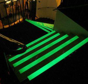 Lot 12 bandes phosphorescentes