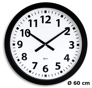 Horloge géante quartz Ø60cm - AIC International