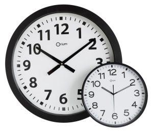 Giant quartz clock  Ø60cm