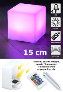 Cube solaire Kanti 15 cm - AIC International