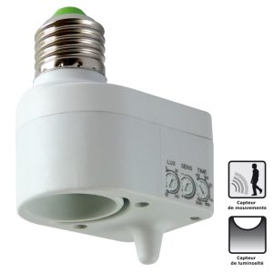 Microwave Sensor Lamp Holder - AIC International