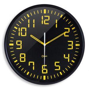 Horloge silencieuse Contraste Ø30 cm - AIC International
