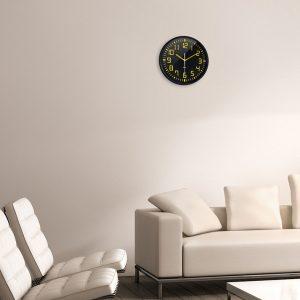 Horloge silencieuse Contraste Ø30 cm