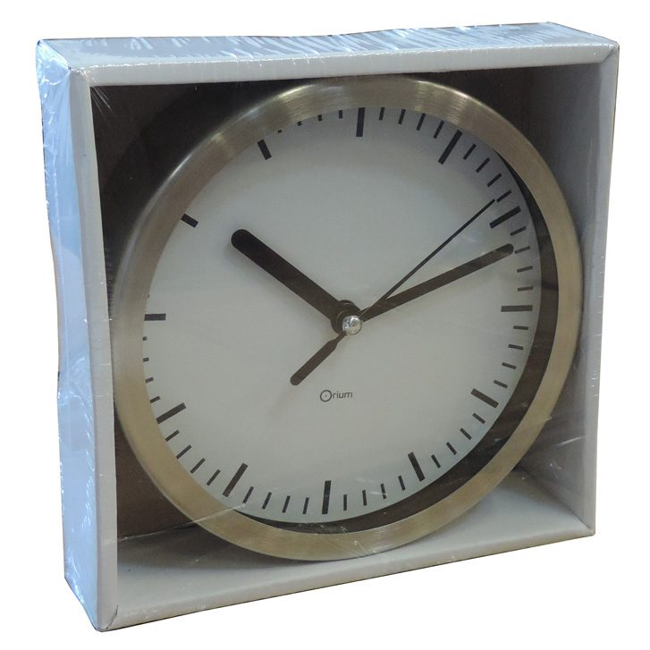 horloge inox 15 cm aic international