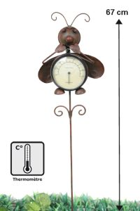 Thermometer decoration mariquita - AIC International