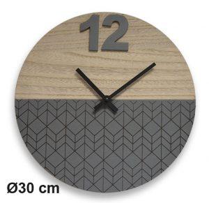 Horloge ZigZag Ø30 cm - AIC International