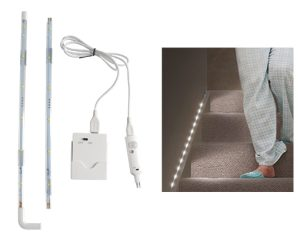 Linkable LED strip with sensor light - AIC International