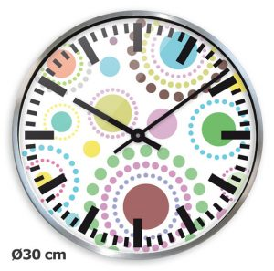 Horloge Alu Circle Ø30 cm - AIC International