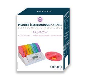 Electronic tablet organizer