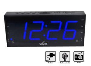 Radio-clock RC with blue LED - AIC International