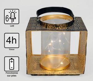 Lanterne Mumbaï 6 Led - AIC International