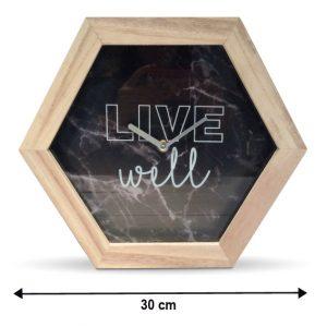 Horloge LIVE WELL 30cm - AIC International