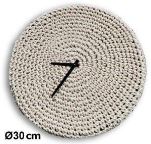 Horloge Tricot-in Ø30cm - AIC International