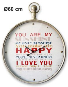 Horloge Happy Ø60 cm - AIC International