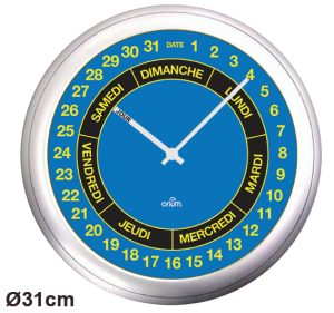 Clock Spots day/date Ø31cm - AIC International