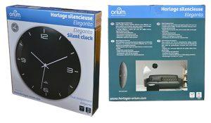 Silent Clock Eleganta Ø29cm