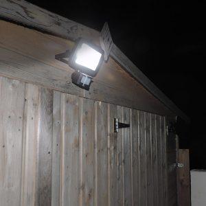 Solar Spotlight with PIR 500lm