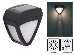 Lampe murale solaire Liberty - AIC International