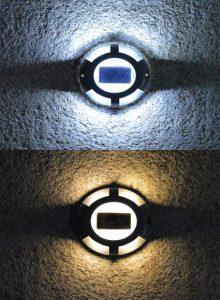 Slot-in solar spotlight Oxo – 10lm