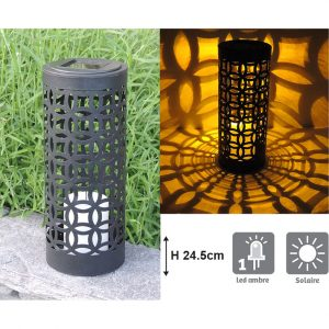 Lanterne solaire Otto H24.5cm - AIC International