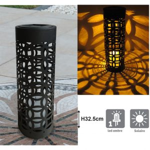 Lanterne solaire Otto H32.5cm - AIC International