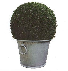 Bac à planter Zinc N°3 – 28L