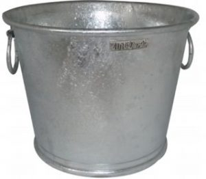 Bac à planter Zinc N°4 – 59L - AIC International