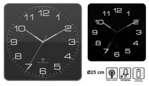 Horloge RC 25cm Lysen - AIC International