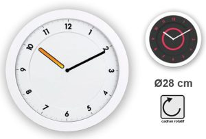 Ultra slim clock Svelt Ø28cm - AIC International