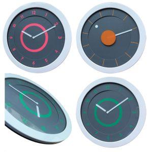 Horloge ultra fine Svelt Ø28