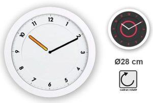 Ultra slim clock Svelt Ø28cm - AIC International