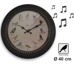 Horloge musicale Birdy Ø40 - AIC International