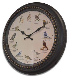 Horloge musicale Birdy Ø40