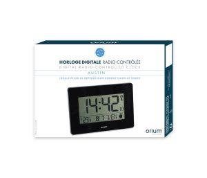 Horloge RC digitale Austin