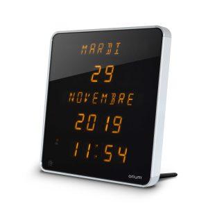 Horloge Ephéméris Jaune DST