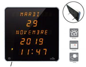 Horloge Ephéméris Jaune DST (EN) - AIC International