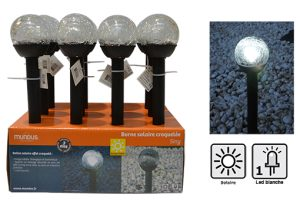 "Plastic solar light – ""Sing"" - AIC International"