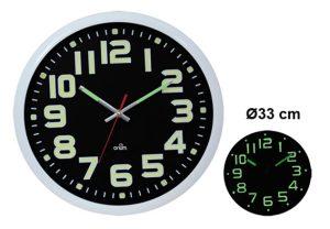 Silent Clock Luci diameter 33 cm - AIC International