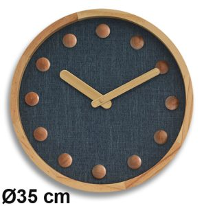 Knit clock Ø40cm - AIC International