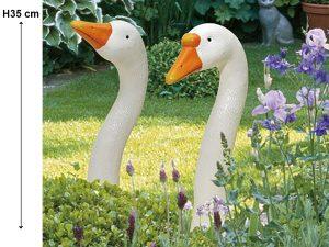 Phil & Mona 2 décorations Oie